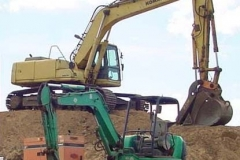 komatsu_PC250_and_45Excavators